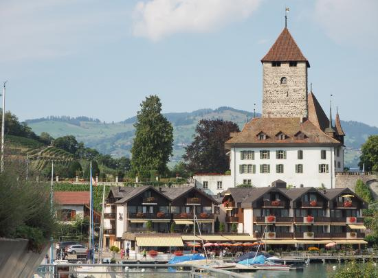 Seegarten Hotel Marina : Seegarten Marina  and castle