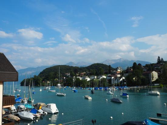 Seegarten Hotel Marina: View from Seegarten Marina