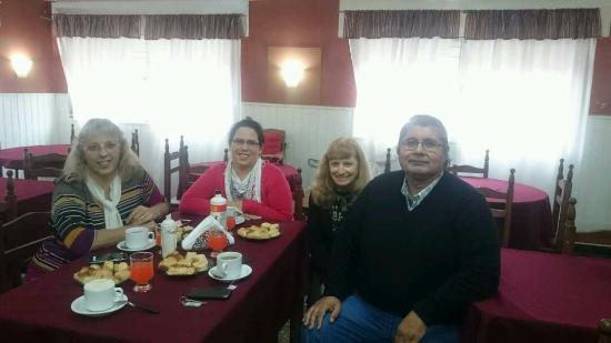 Hotel Altos de la Falda: En el comedor