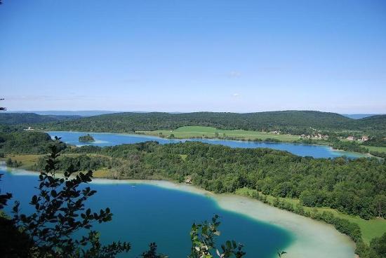 Auberge des 5 Lacs: belvédère des 4 lacs
