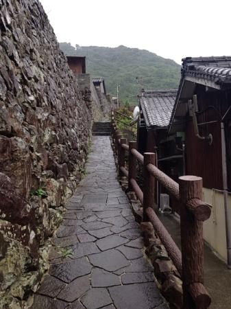 Ainan-cho, Japan: 石垣の里
