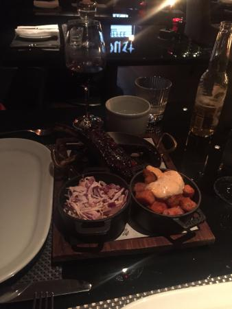 Chez Mal: Mouth-watering ribs and homemade coleslaw and sweet potatos