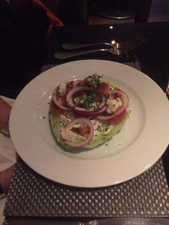 Chez Mal: Salad starter