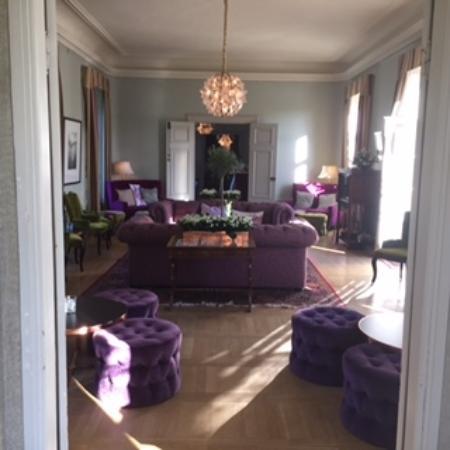 Rosersbergs Slottshotell: Sitting room