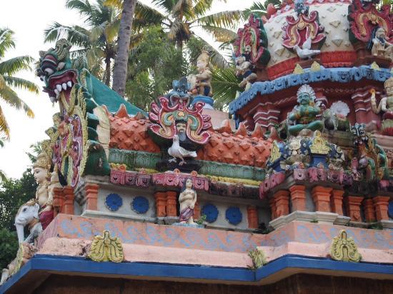 Vishnu Temple, sculpture details