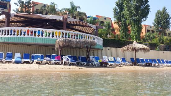 Florida Beach Hotel & Resort: View from the sea