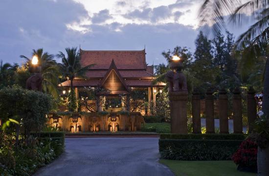 Anantara Hua Hin Resort : Entrance