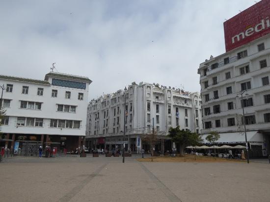 Casablanca, Marruecos: 広場