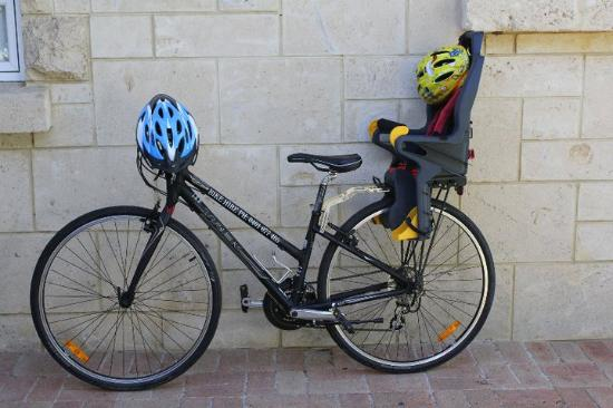 push bike baby seat