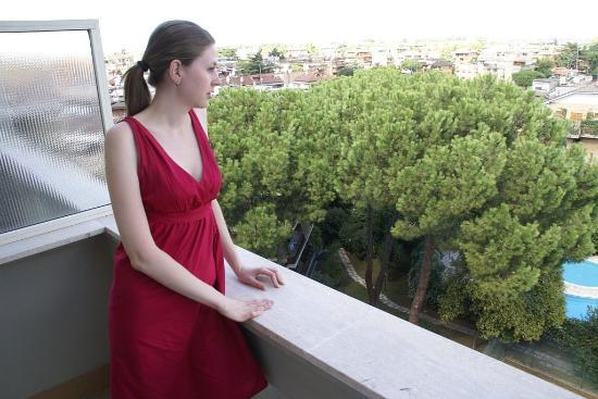 Grand Hotel Fleming: вид с балкона