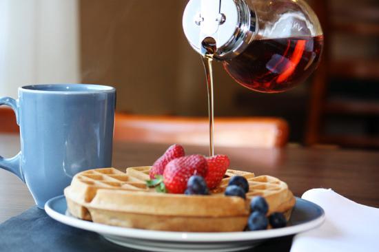 New Glasgow, كندا: Fresh Waffles!