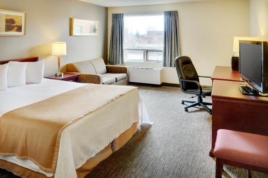 Travelodge Airport North Bay: Queen Guestroom
