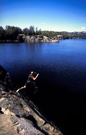 Travelodge Hotel Sudbury: Swimming And Diving At Killarney Provincial Park