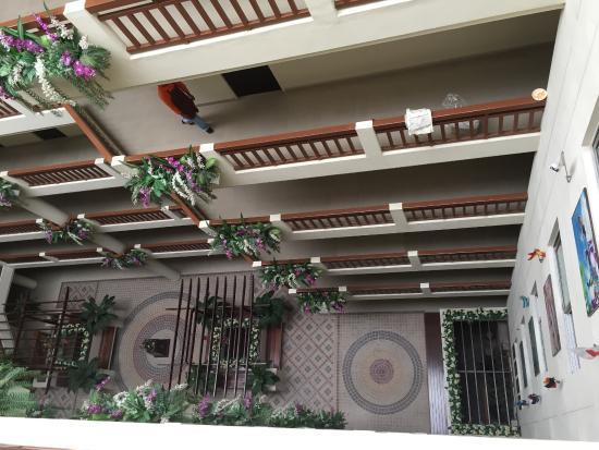 KV Mansion: vista dall'alto