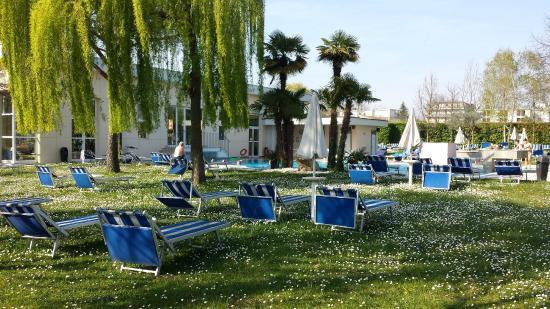 Abano Terme, Italia: Parco piscina