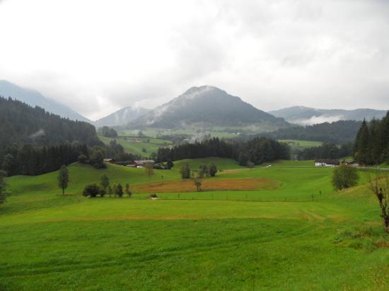 Alpenhotel Beslhof: View from Hotel