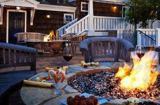 Lighthouse Lodge & Cottages : Restaurant