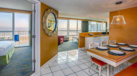 Ocean view suites picture of boardwalk resort hotel and - 2 bedroom hotels in virginia beach ...