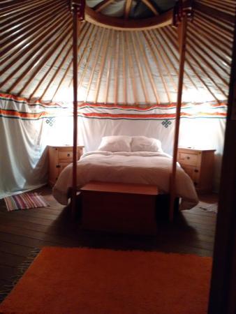 Yurts in Spain