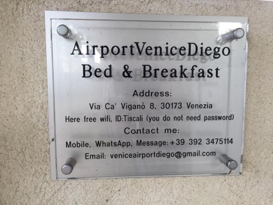 B&B Airport Venice Diego 2