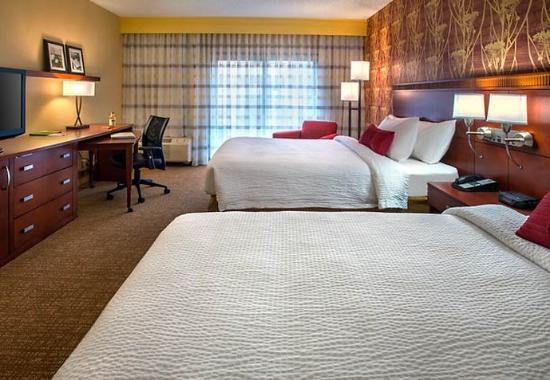 Wayne, Pensilvania: Queen/Queen Guest Room