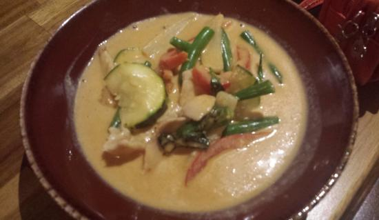 Inthanon Thai Restaurant: chicken curry