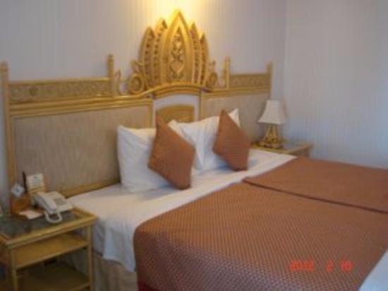 Green Plaza Hotel: ベトナム風の雰囲気の部屋