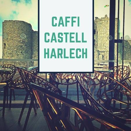 Caffi Castell Harlech Castle Cafe