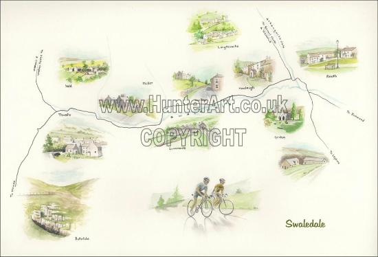 Grinton, UK: HunterArt example of work - Swaledale