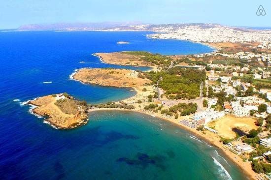 Agii Apostoli, Grækenland: stranden