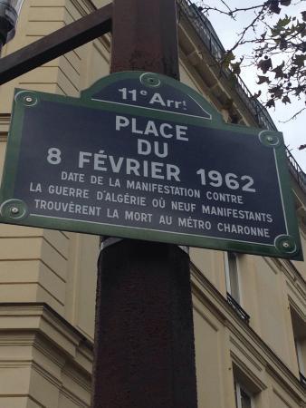 Place du 8 Fevrier 1962