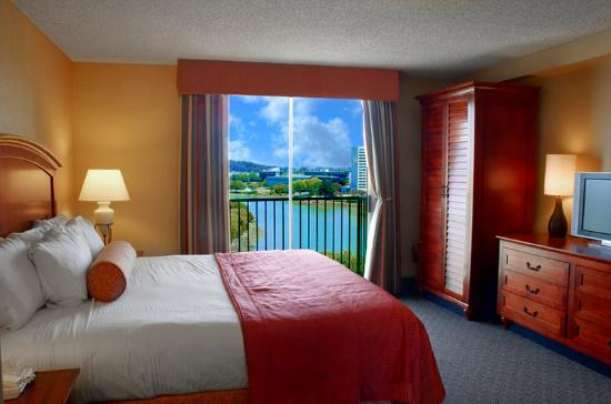 Embassy Suites by Hilton Hotel San Francisco Airport (SFO) - Waterfront: King Bed Lagoon View Suite