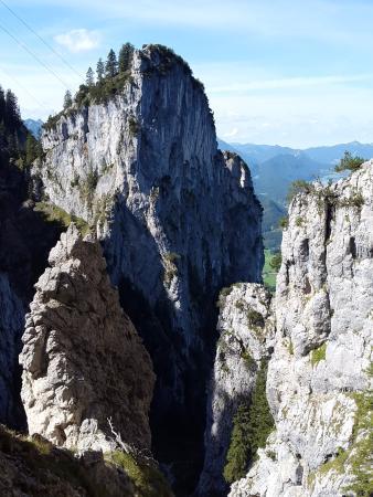 Klettersteig Gelbe Wand