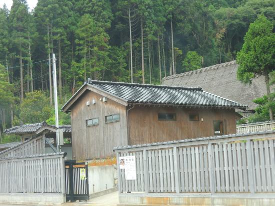 Hodatsushimizu-cho, Japan: 茅葺です