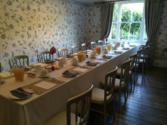 The Old Rectory: Breakfast
