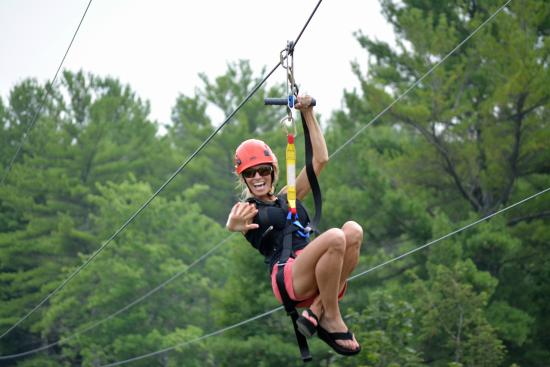 Zoom Flume: New Gravity Gorge Zip Line