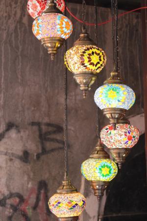 Old Bazar Kujundziluk: Turkish Lamps