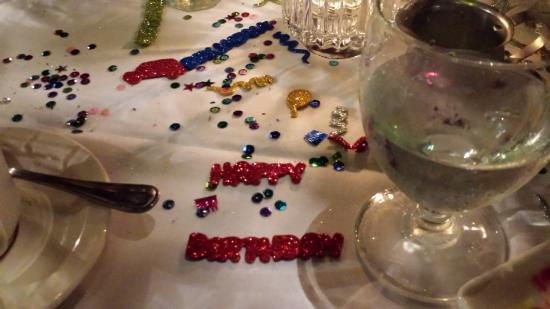 Sea Girt, NJ: Decorations on the table