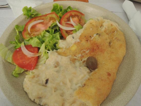 Restaurante Pendoa: bacalhau com natas