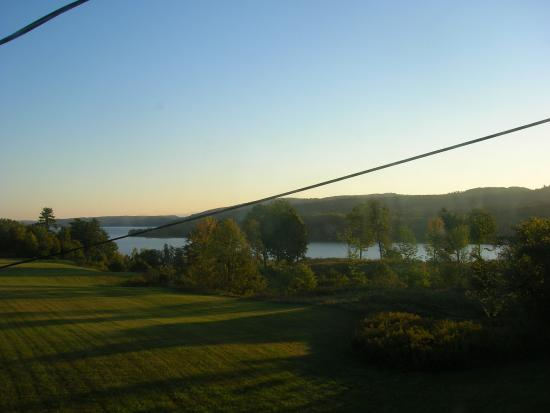 Putnam Station, NY: One view from tower suite