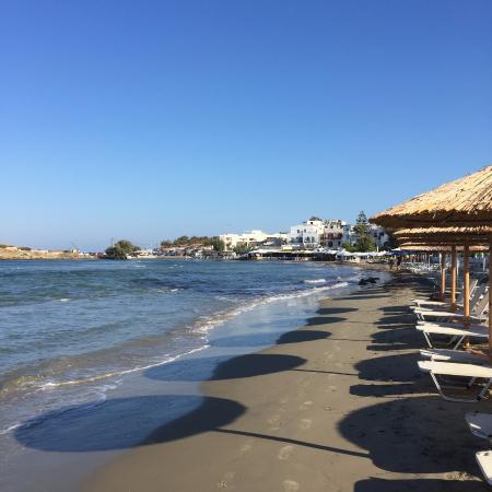 Rea Sun Studios Apartments : naxos chora beach