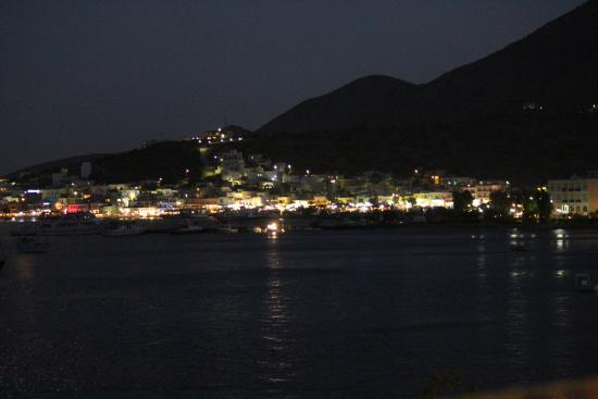 Despina Taverna : View of Elounda