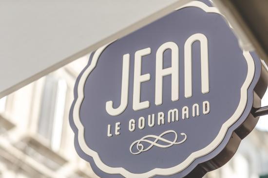 Jean le Gourmand: Enseigne