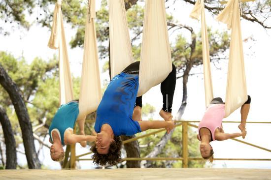 Robinson Club Sarigerme Park: yoga Sarigerme Park