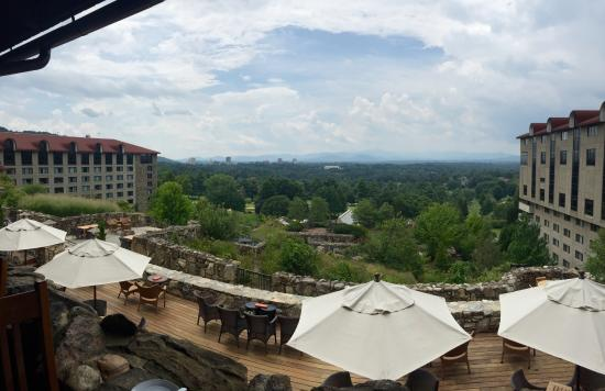 View from the sunset terrace grove park inn asheville for Terrace restaurant charlotte