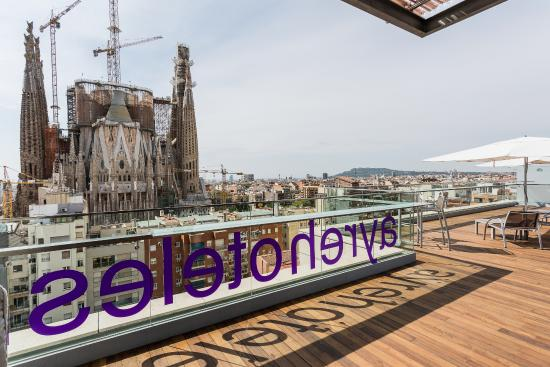 Terraza Picture Of Ayre Hotel Rosellon Barcelona