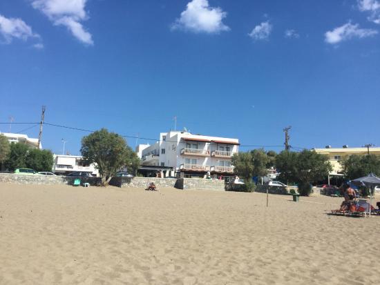 Hotel Pal Beach: Hotellet sett fra stranda