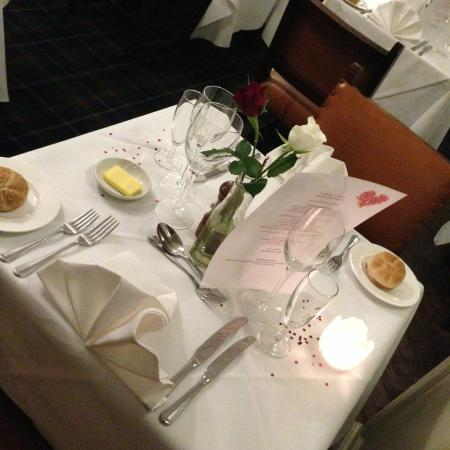 Salisbury Arms Hotel: Valentines Day