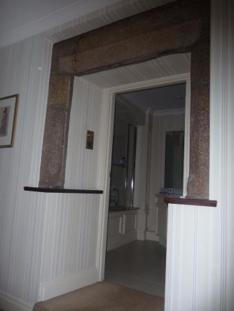 Stone door surround