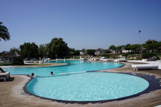Hotel Borgo Pantano: vista piscina